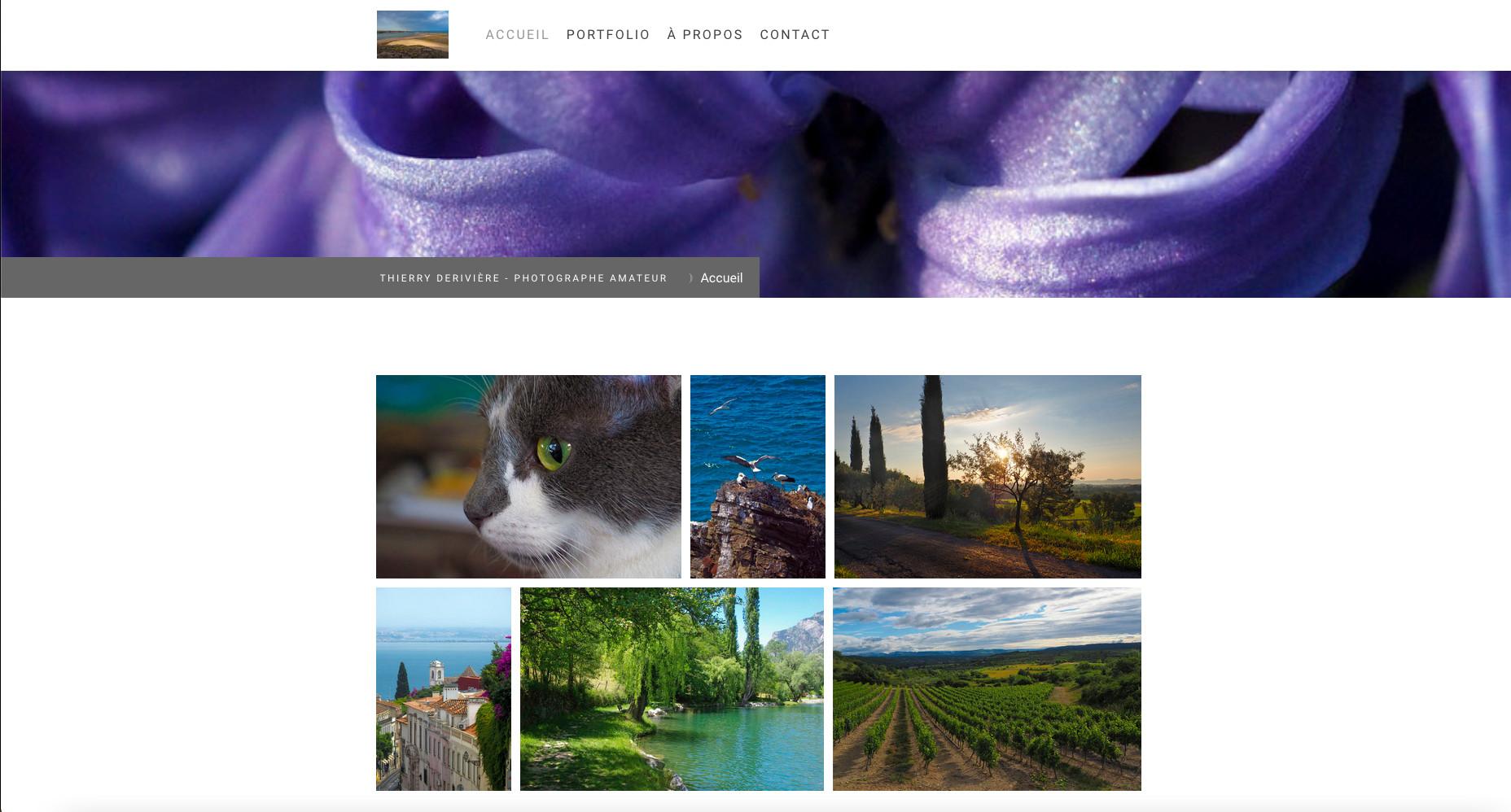 Passionné de photographies, n'hésitez pas à visiter mon site !